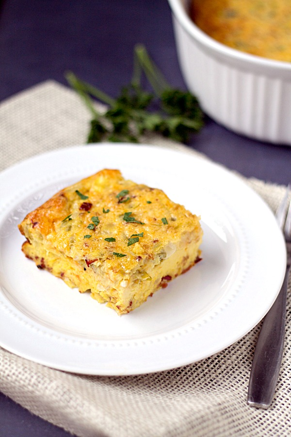 and green chili this green chili egg bake is mexican casserole quick ...