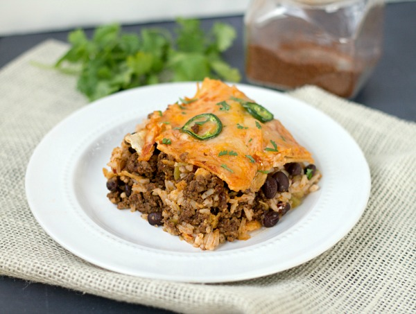 Taco Lasagna - This Gal Cooks #mexicanfood #tacos #casserole