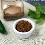 Homemade Taco Seasoning - This Gal Cooks #tacoseasoning #seasonings #tacos