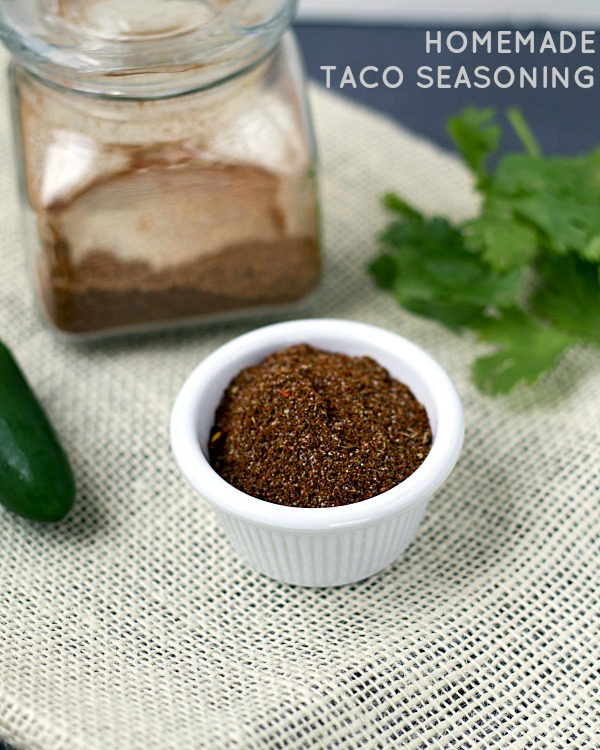 Homemade Taco Seasoning - This Gal Cooks #tacoseasoning #seasonings #tacos
