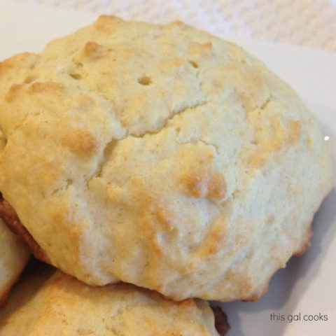 Homemade Honey Biscuits
