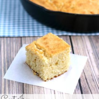 Cast Iron Buttermilk Cornbread