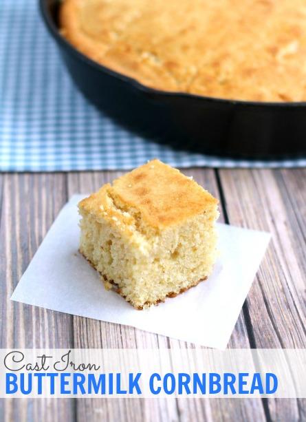 Cornbread recipe 10 inch cast iron skillet