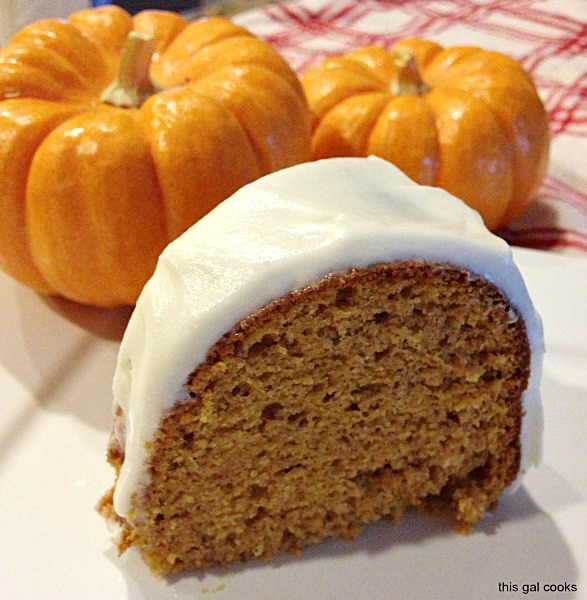 Easy Pumpkin Spice Cake from www.thisfgalcooks.com