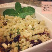 Cranberry Mint Quinoa