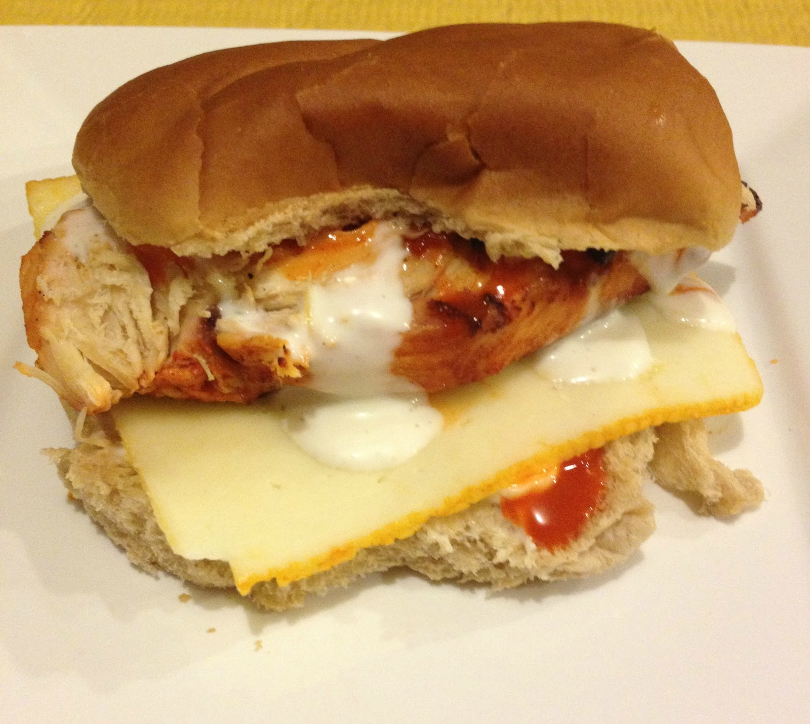 Recipe grilled buffalo chicken sandwich this gal cooks for Buffalo chicken sandwich recipe grilled