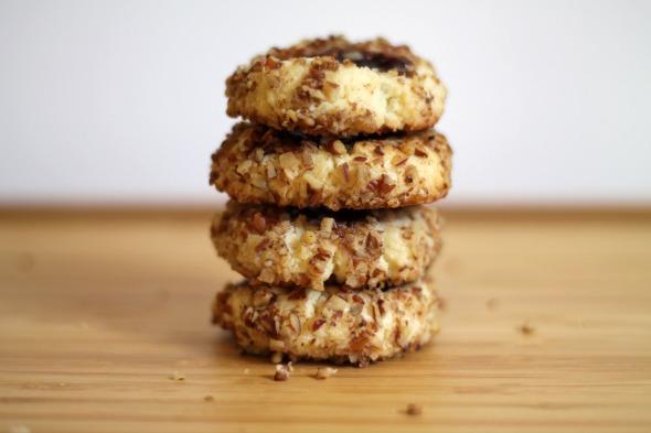 pecan jam thumbprint cookies8