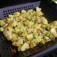 Grilled Herbed Potatoes