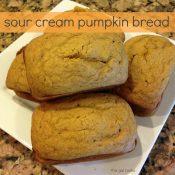 Sour Cream Pumpkin Bread