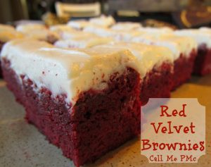 red velvet brownies 1