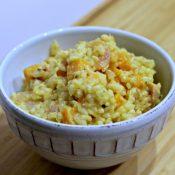 Sweet Potato & Shrimp Risotto