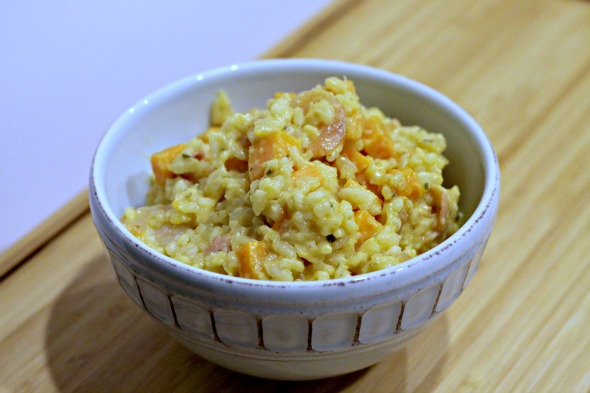 Recipe: Sweet Potato & Shrimp Risotto