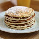 White Chocolate Pancakes