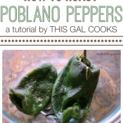 Food Tips: How to Roast Poblano Peppers