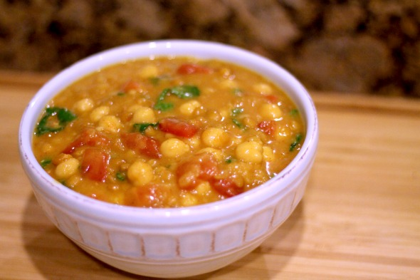 Moroccan Chickpea & Lentil Stew