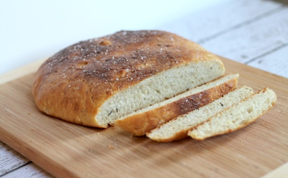 Roasted Garlic & Rosemary Bread-2