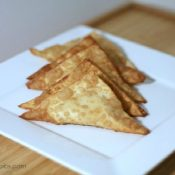Curry Crab Rangoon