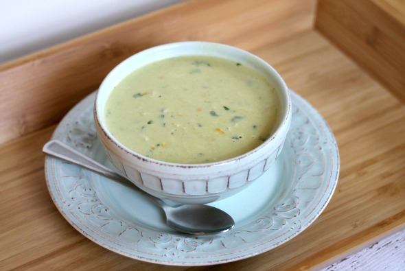 roasted poblano crab chowder