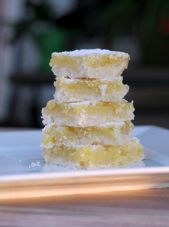 Oh So Lemon Bars from www.thisgalcooks.com
