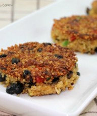 Mexican Style Quinoa Patties