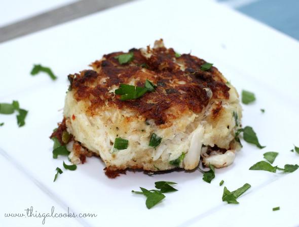 Crab Cakes - This Gal Cooks wm