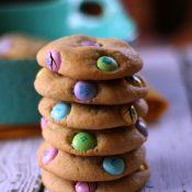 M&M Easter Cookies Recipe