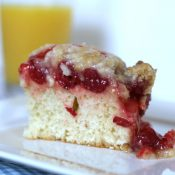 Cherry Danish Coffee Cake