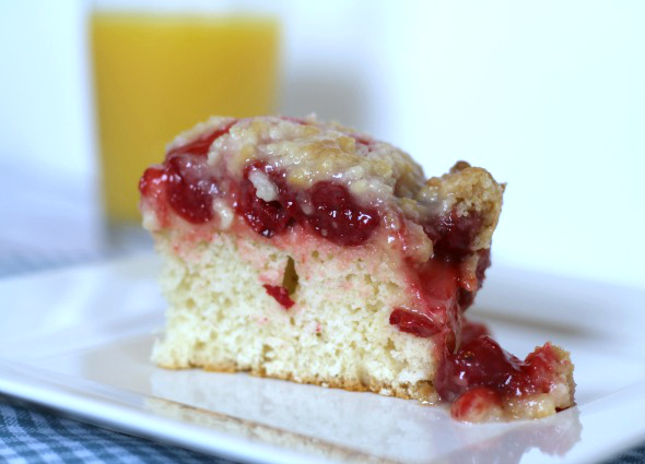 This Gal Cooks - Cherry Danish Coffee Cake #danish #breakfast2