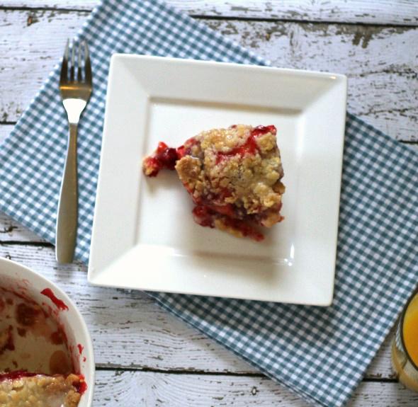 This Gal Cooks - Cherry Danish Coffee Cake