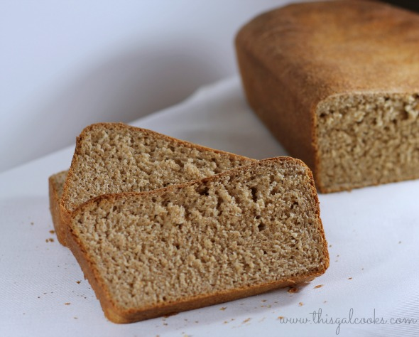 Whole wheat bread - This Gal Cooks 2 wm