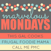 Link Party: Marvelous Mondays #40 with Features