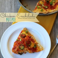 Chicken Enchilada Pot Pie from www.thisgalcooks.com #enchiladas #mexicanfood