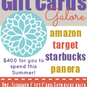 Giveaway: Gift Cards Galore!