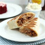 Hot BBQ Pork Ranch Wraps
