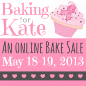 Bake Sale: Baking with Kate