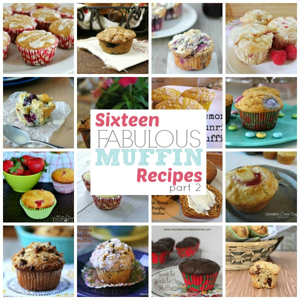 16 Fabulous Muffin Recipes on www.thisgalcooks.com