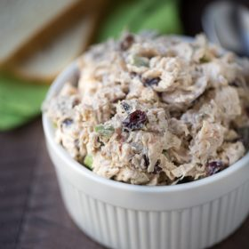 This is my favorite chicken salad recipe and the only recipe I use anymore! | This Gal Cooks