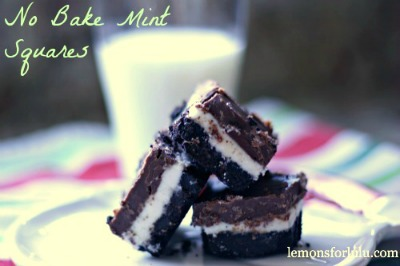 No-Bake-Mint-Squares