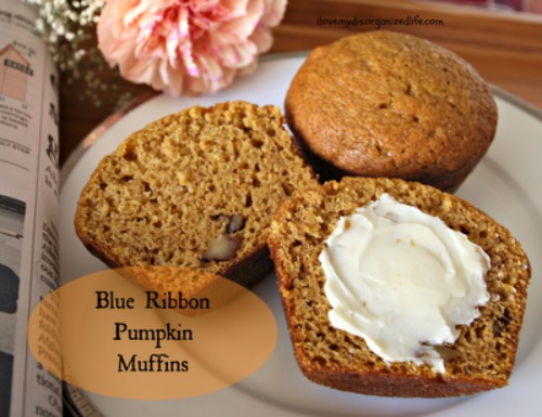 Pumpkin Muffins text