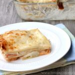 Seafood Lasagna with Creamy White Sauce