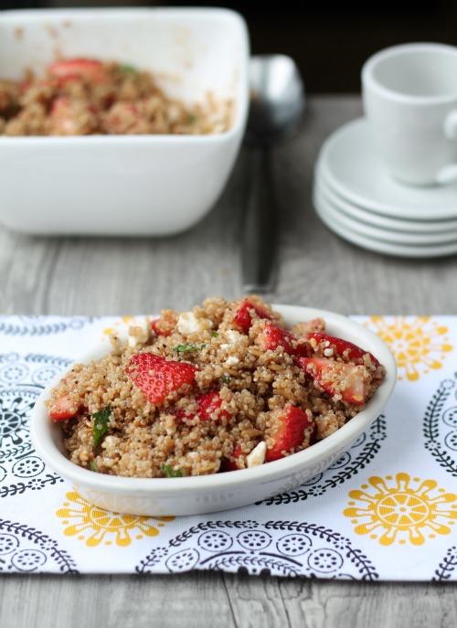 http://www.thisgalcooks.com/2013/06/26/strawberry-quinoa-salad/