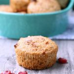 Vegan Apple Berry Bran Muffins