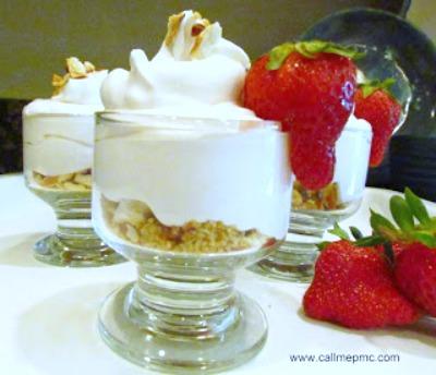 no back strawberry cheesecake