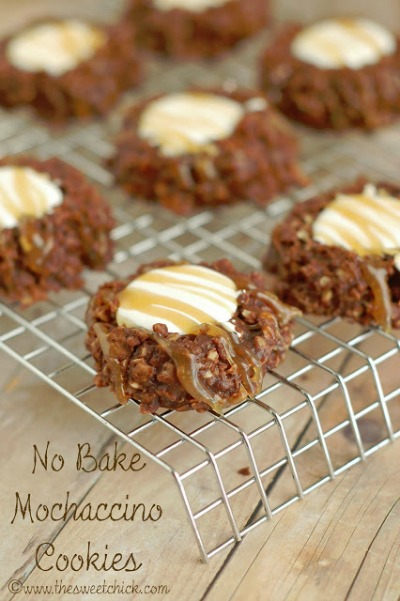 no bake mochaccino cookies