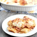 Easy Chipotle Ravioli Bake