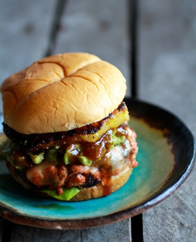 Hawaiian-BBQ-Salmon-Burgers-with-Coconut-Caramelized-Pineapple-13