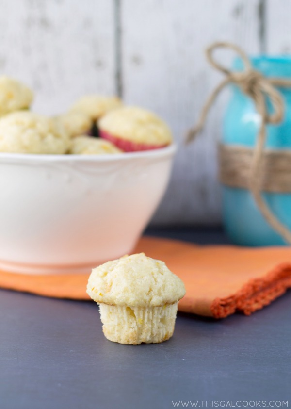 You can't go wrong by starting your day with these delicious Orange Creamsicle Mini Muffins!