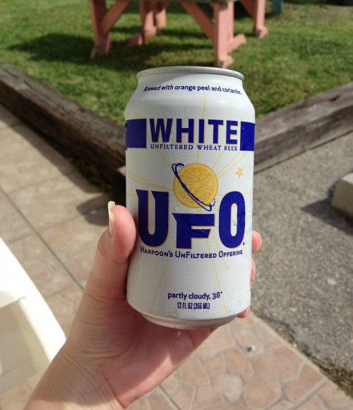 UFO Wheat Beer