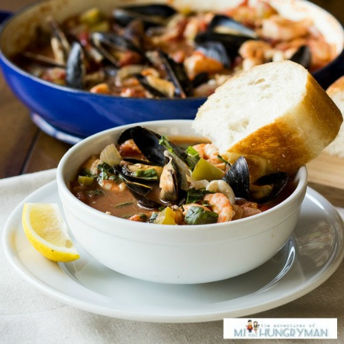 Seafood Cioppino by The Adventures of MJ and Hungryman