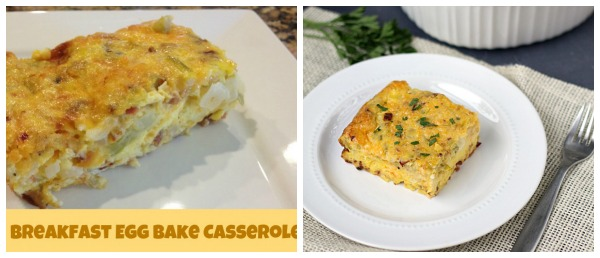 Food Photography Tips: Breakfast Egg Bake Casserole. Before and After Photos. From www.thisgalcooks.com
